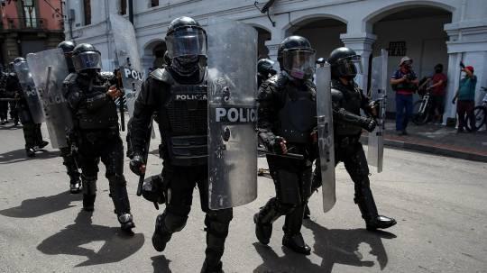 La Policía recibe nuevas armas por primera vez desde 2009 / Foto: EFE