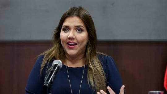 Tribunal de Apelación aplaza resolución sobre María Alejandra Vicuña / Foto: EFE