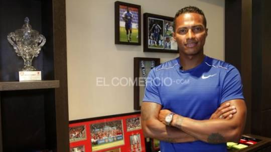 Antonio Valencia, futbolista de Liga de Quito. Foto: Archivo / EL COMERCIO