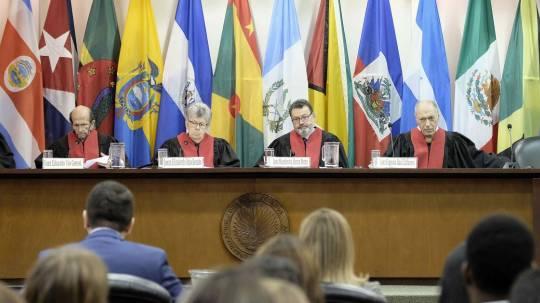La Corte Interamericana verá casos contra Ecuador y Honduras en noviembre  / Foto: EFE