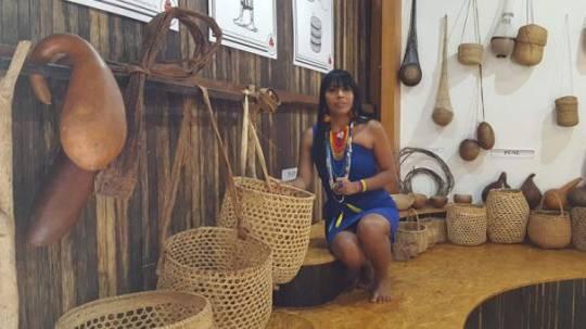 El museo de los Shuar reúne piezas que tienen más de 100 años y son consideradas como parte del patrimonio histórico de Zamora Chinchipe. Foto: El Comercio