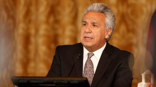 Lenín Moreno advierte del peligro de tener un narcogobierno de Venezuela / Foto: EFE