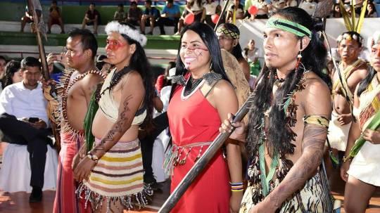 Vestimenta del oriente ecuatoriano - Foto: El Diario