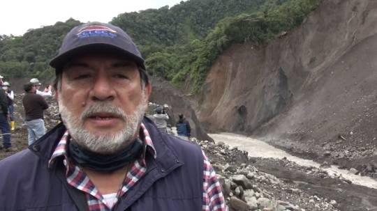 'La erosión regresiva del río Coca es un fenómeno natural' - Imagen: CELEC