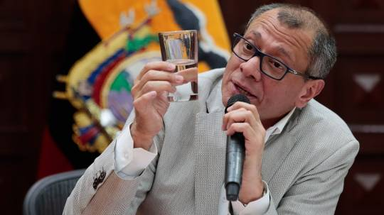 La Fiscalía de Ecuador presenta caso petrolero contra el exvicepresidente Glas / Foto: EFE