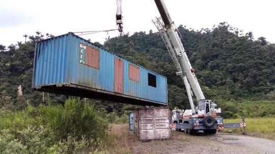 Inicia la construcción de dique en el río Coca / Cortesía de CELEC
