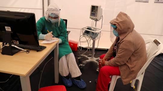 Ecuador alcanza 231.644 contagios y 14.332 decesos por covid-19 / Foto: EFE