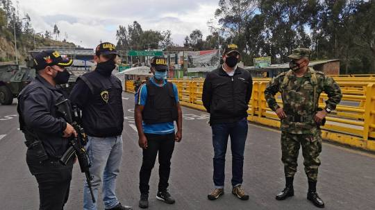 Recientes secuestros en frontera colombo-ecuatoriana alertan a autoridades / Foto: EFE