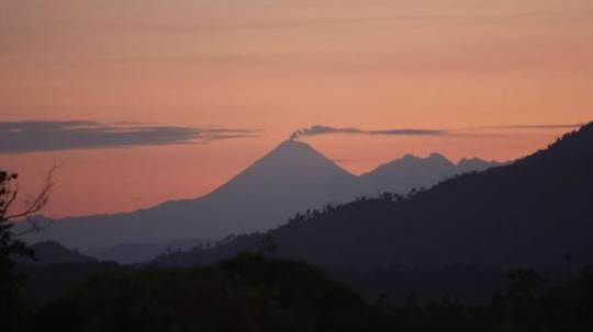 El volcán Sangay está en proceso de erupción desde el 7 de mayo del 2019. Foto: Archivo EL COMERCIO