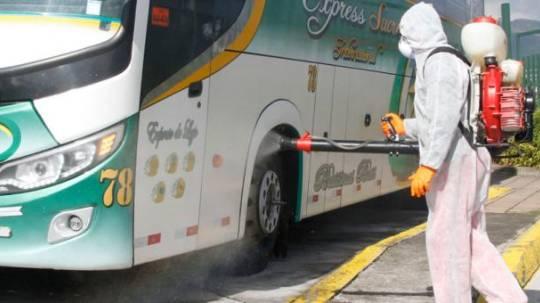 El transporte interprovincial se mantiene suspendido por el coronavirus. Foto: Eduardo Terán / EL COMERCIO