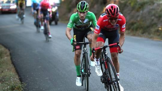 Carapaz: Roglic está muy fuerte y la carrera muy abierta / Foto: EFE