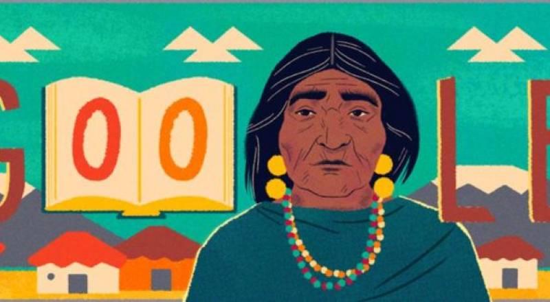 Google recuerda a la líder indígena ecuatoriana Dolores Cacuango en su doodle / Foto: EFE