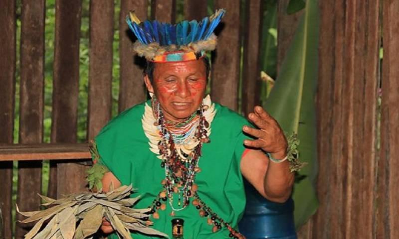 Cushma, Shakap e Itip son parte de la vestimenta de los indígenas de la Amazonía ecuatoriana / Foto: El Oriente