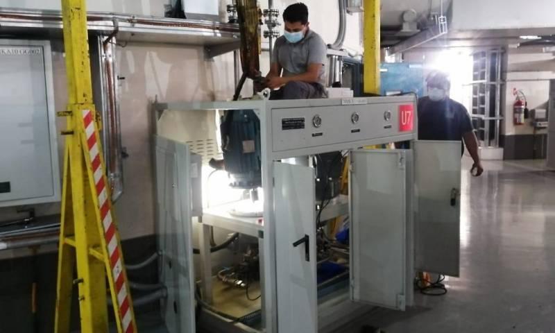 CELEC EP realiza mantenimiento en Coca Codo Sinclair / Foto: CELEC EP