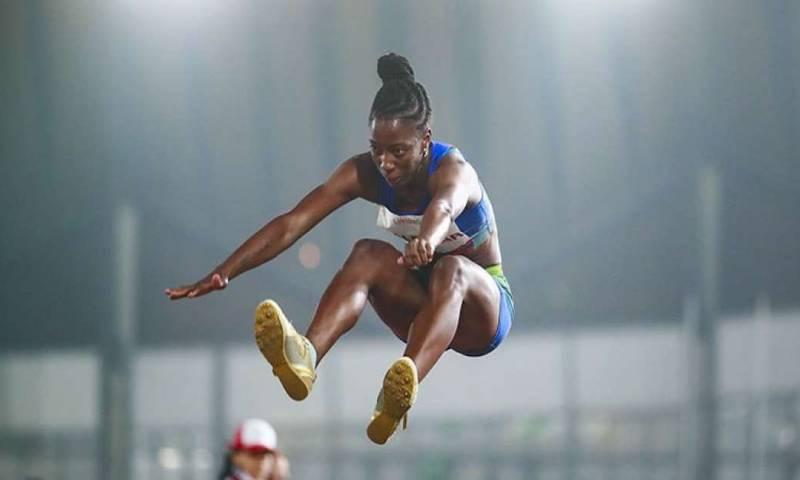 Liuba Zaldívar, la cubana que buscará en Tokio una medalla para Ecuador / foto cortesía Secretaría del Deporte