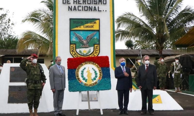 Las Fuerzas Armadas conmemoran 26 años de la victoria del Cenepa / Foto: Fuerzas Armadas